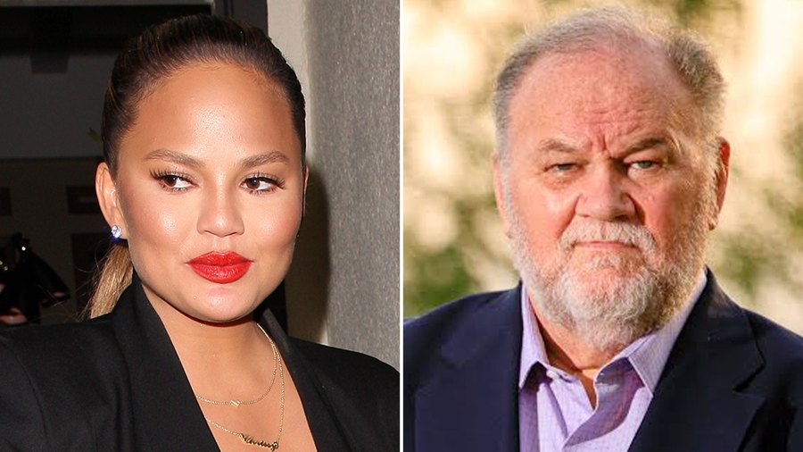 Chrissy Teigen, Thomas Markle, Meghan Markle, Headlines
