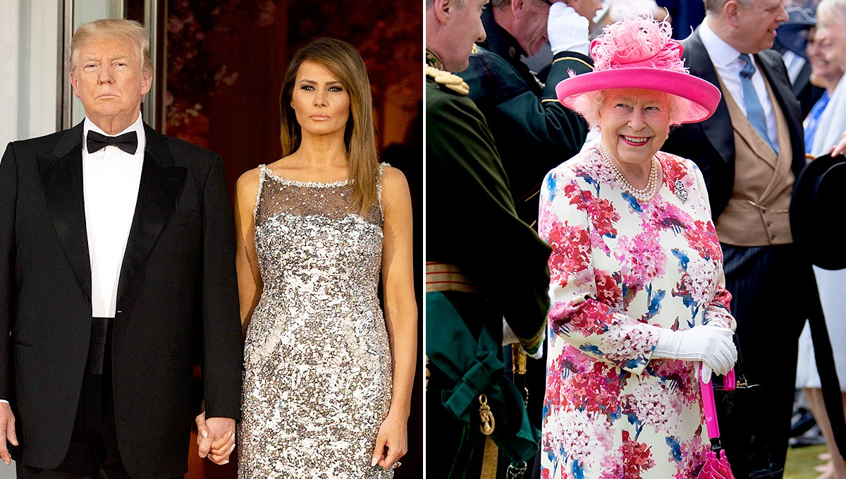 Donald-and-Melania-Trump-to-Have-Tea-With-Queen-Elizabeth-II