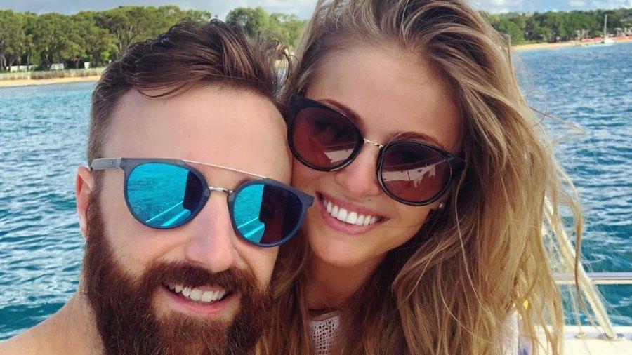 James Hinchcliffe Becky Dalton engaged
