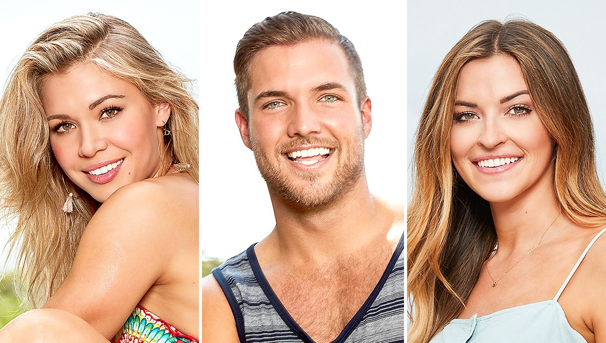 Krystal, Jordan, and Tia on The Bachelor In Paradise