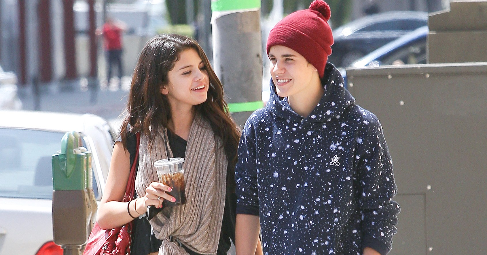 Image result for justin and selena