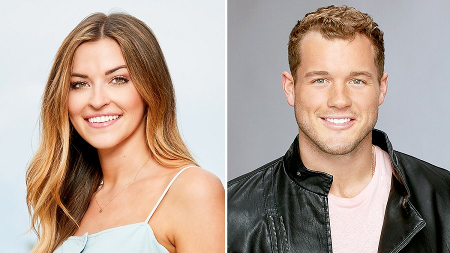Tia Booth and Colton Underwood
