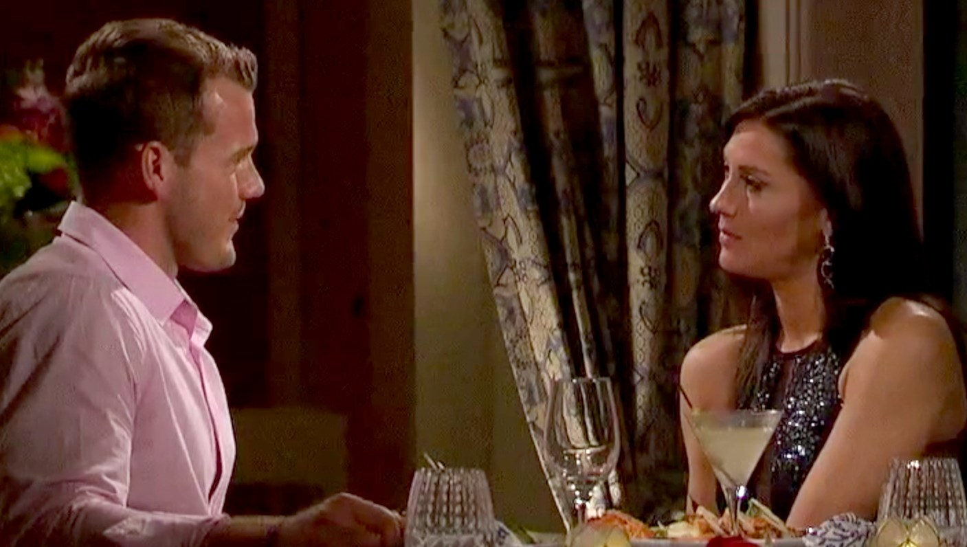 Colton and Becca on The Bachelorette