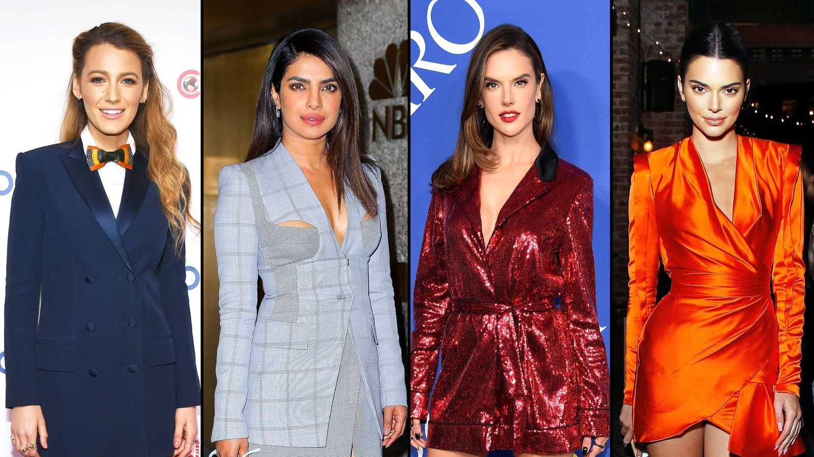 7cf9643e6c6e Stars Suit Up in Blazer Dresses: See the 10 Top Red Carpet Looks!