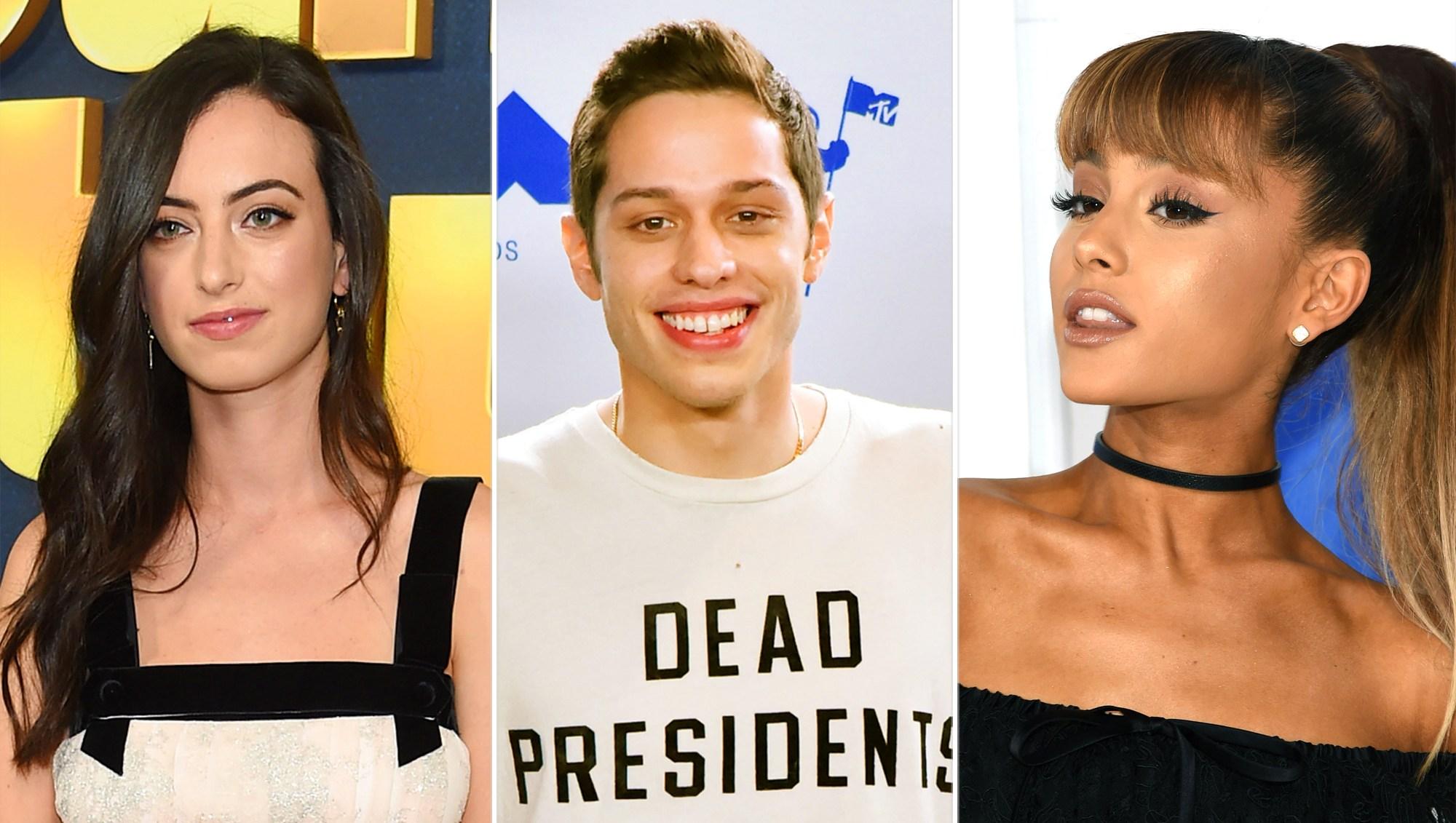 Cazzie David, Pete Davidson and Ariana Grande