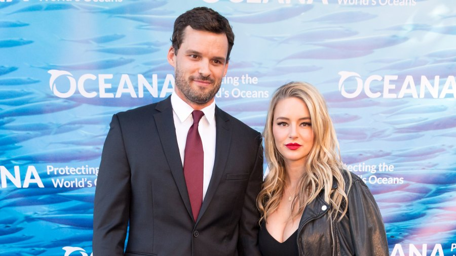 Austin Nichols and Hassie Harrison