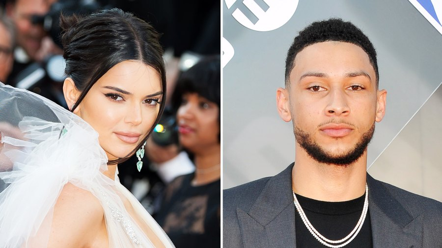 Kendall Jenner Ben Simmons 4th of July Cuddle