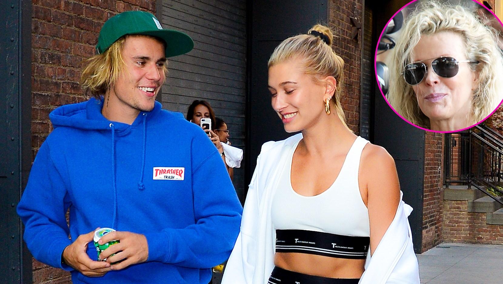 Kim Basinger Justin Bieber Hailey Baldwin