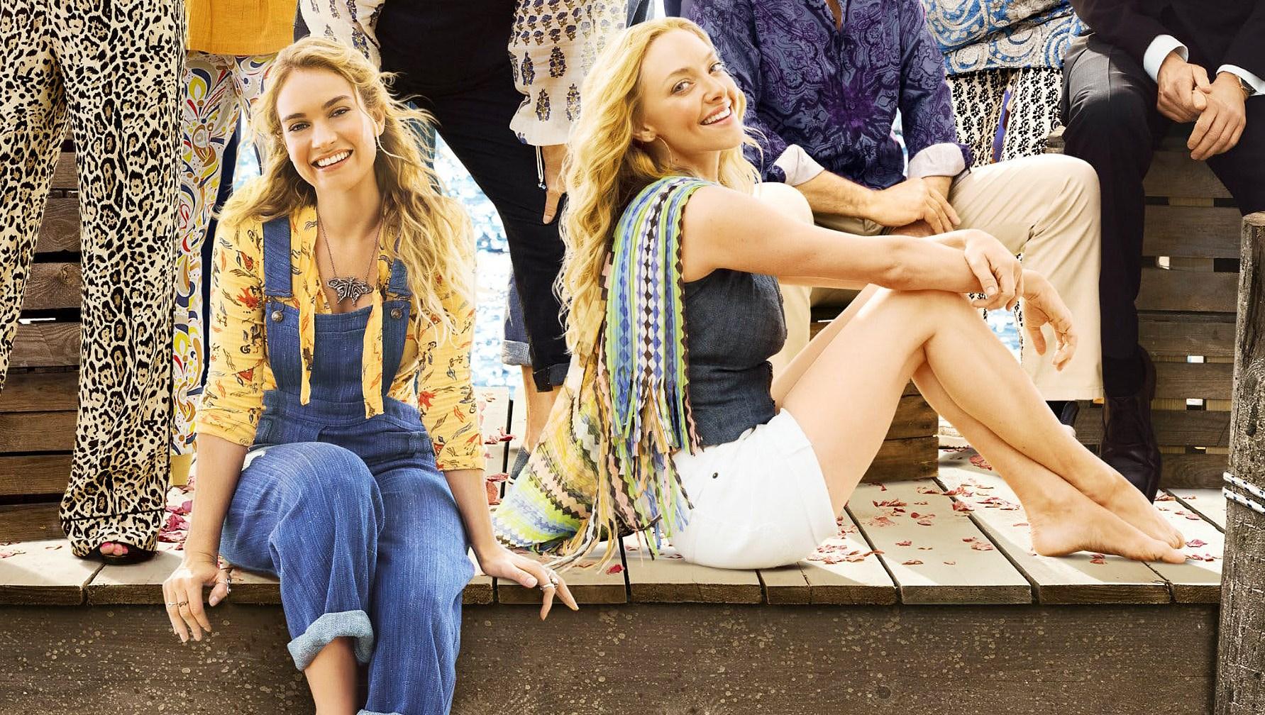 Lily James Amanda Seyfried Mamma Mia 2