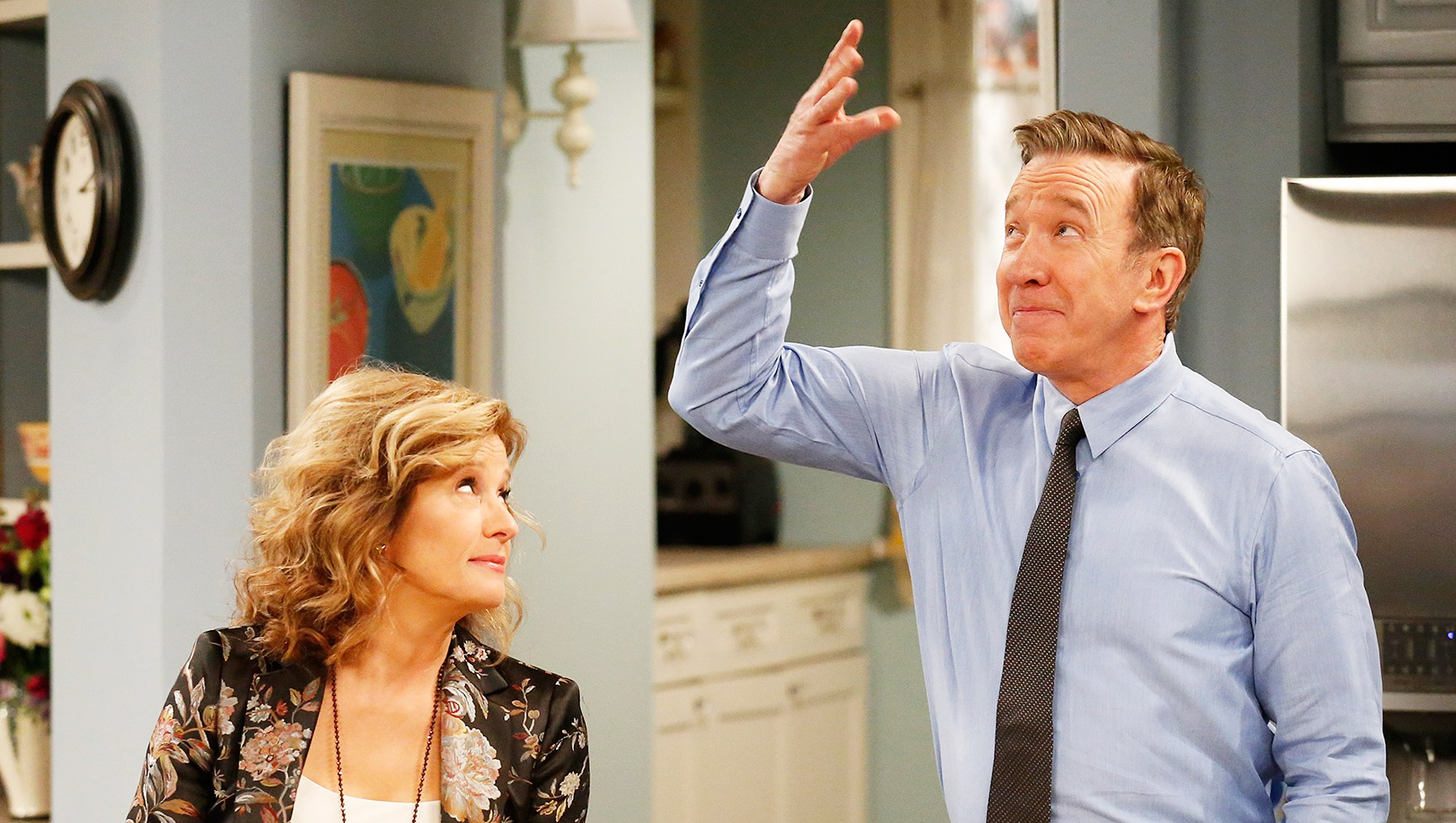 Nancy Travis Tim Allen Last Man Standing Fox