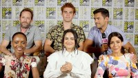 The cast of Riverdale at Comic-Con