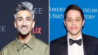 Tan France Styling Pete Davidson Quirky Wedding Outfit