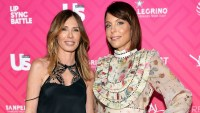 Carole Radziwill and Bethenny Frankel.