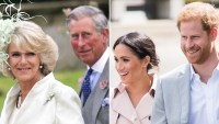 Prince Charles, Duchess Camilla and Prince Harry, Duchess Meghan