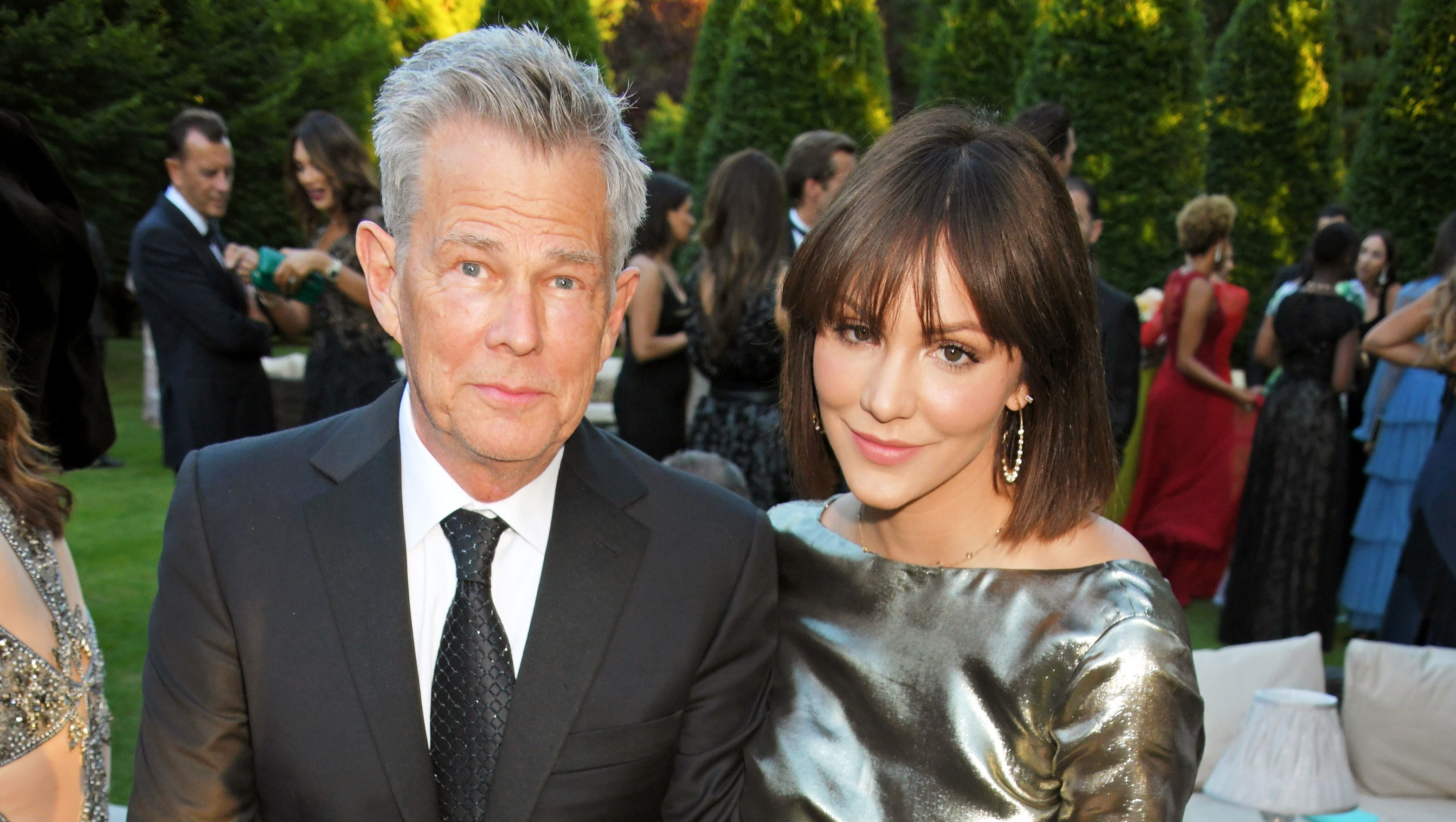Katharine McPhee gushes over David Foster