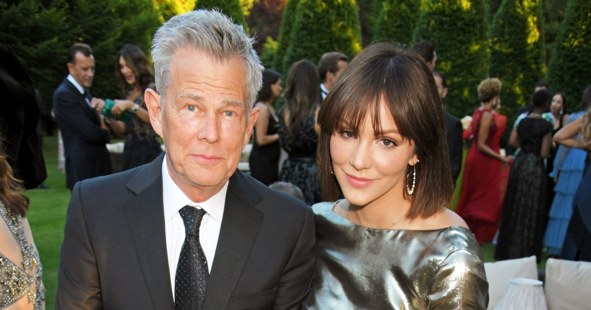 fa263d62961a8 Every Time Katharine McPhee Joked About David Foster Age Difference