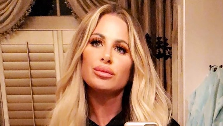 Kim Zolciak-Biermann lips