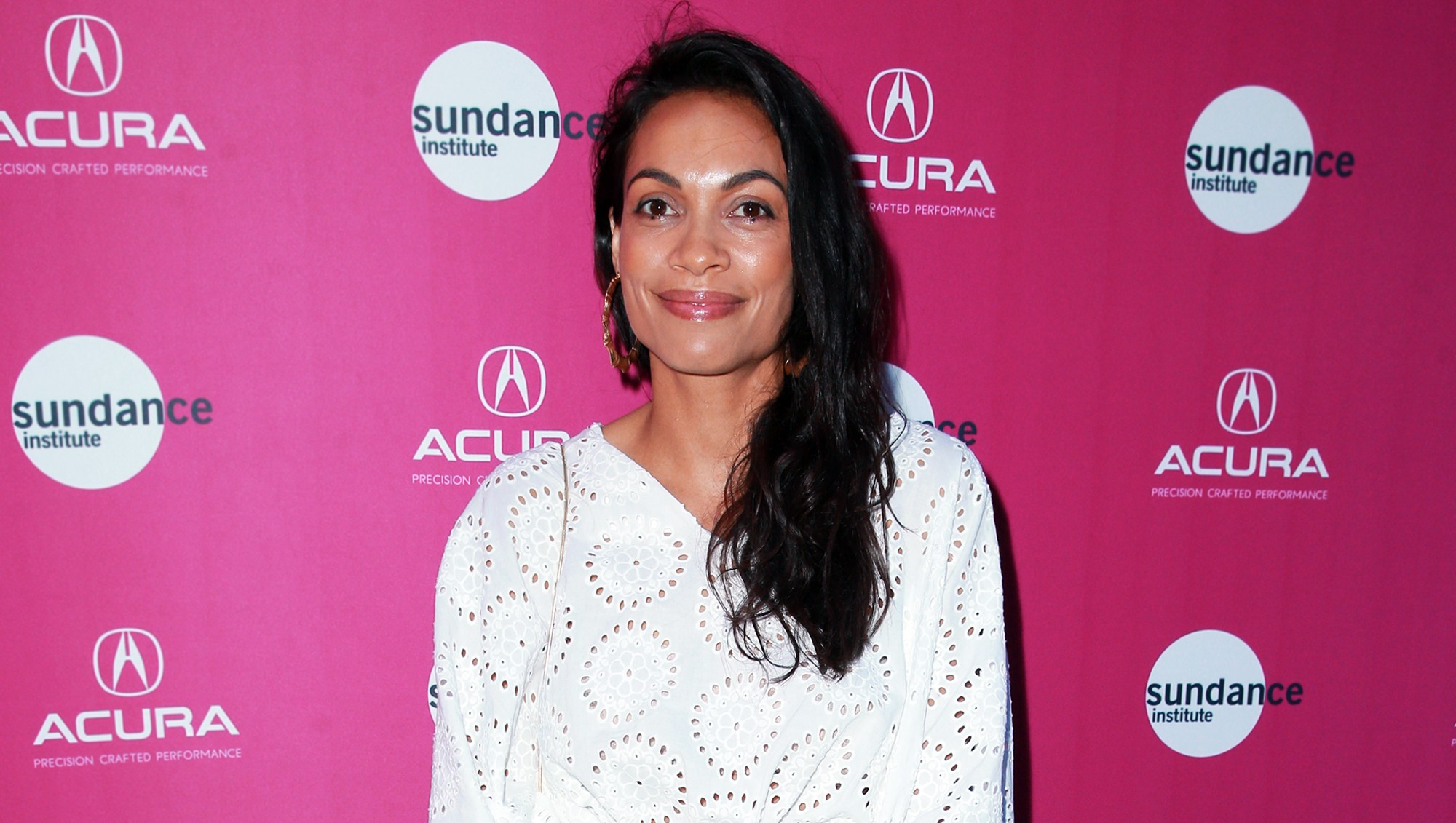 Rosario Dawson attends the Sundance Institute at Sundown Summer Benefit.