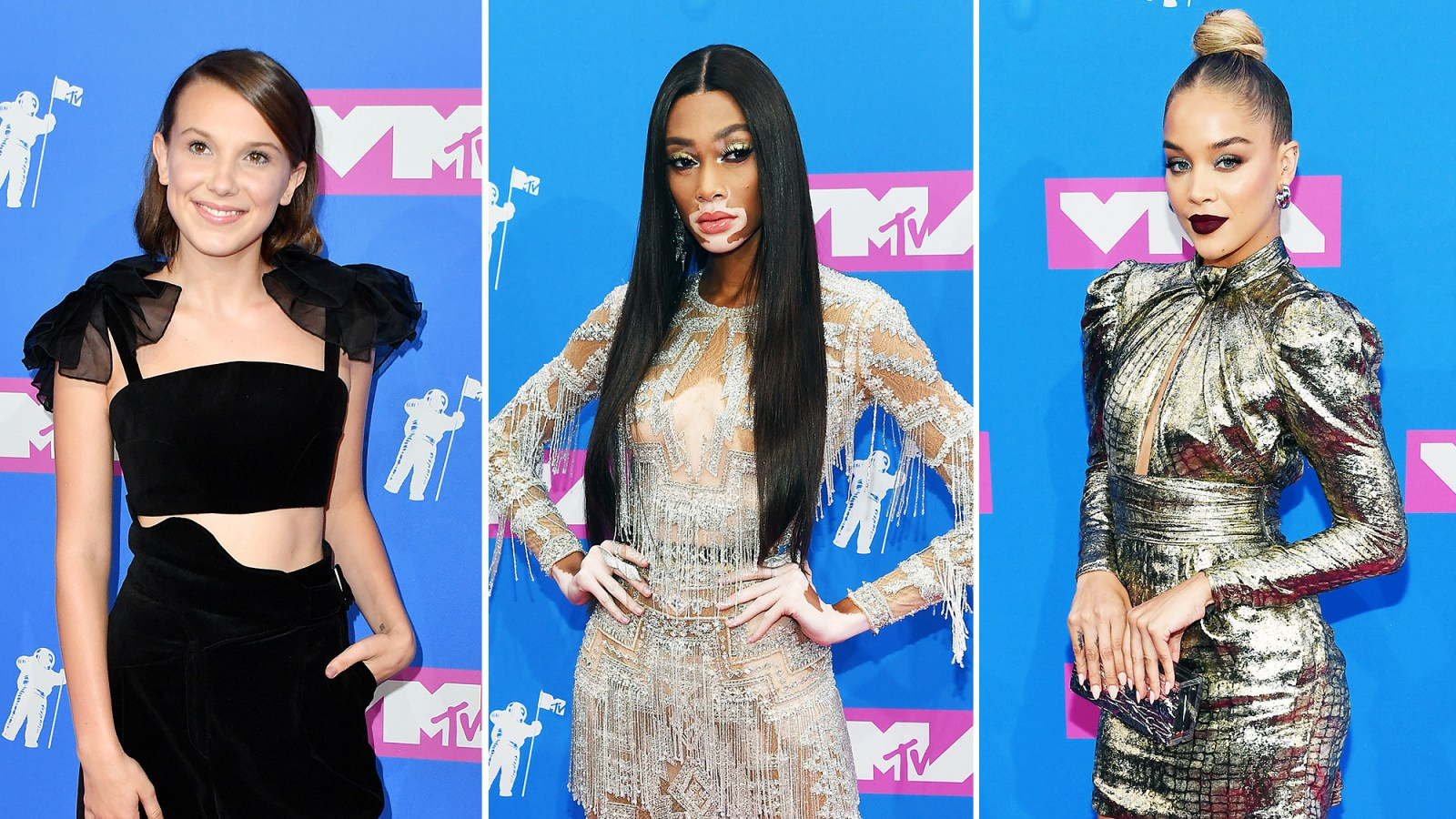 2eabbb214db1b Statement Sleeves Were the Surprising Trend That Ruled the VMAs 2018 Red  Carpet