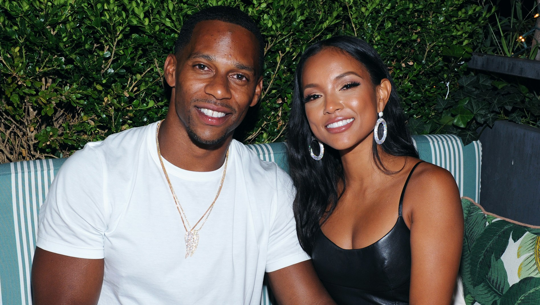 Victor Cruz Announces Retirement From NFL Hours After Attending VMAs 2018 With Karrueche Tran