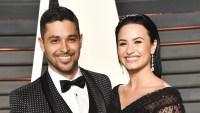 Wilmer Valderrama and Demi Lovato