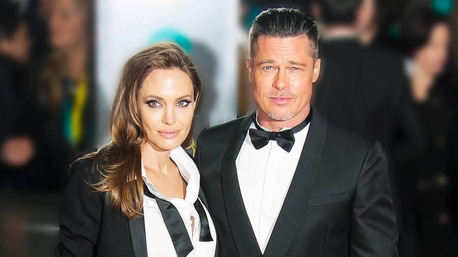 Angelina Jolie Brad Pitt Child Support