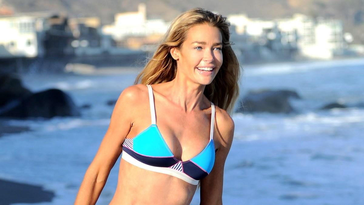 6c3bdbd60dcee Denise Richards Poses in a Bikini With New 'RHOBH' Costars
