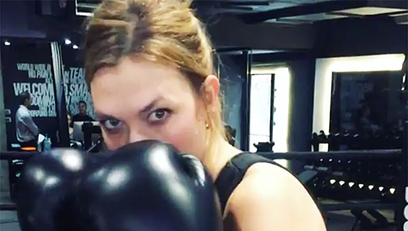 Celebrities Who Box Karlie Kloss
