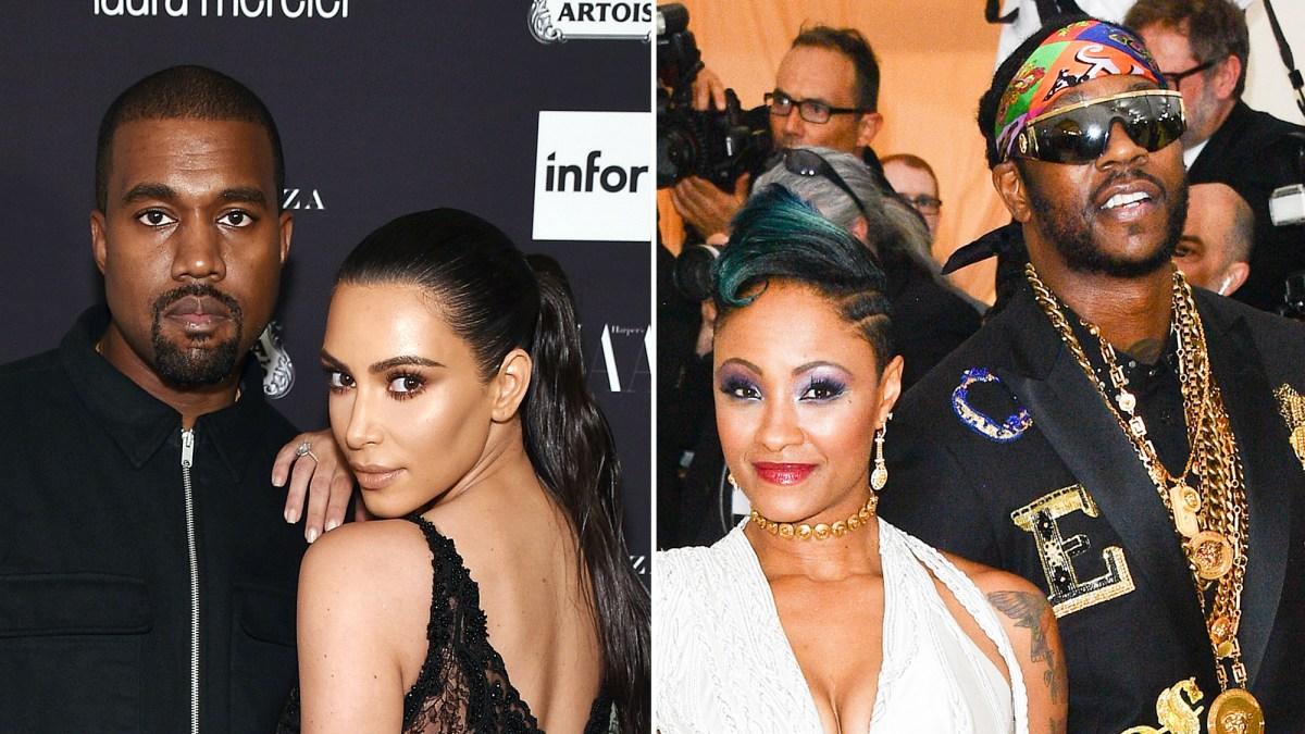20fe8abb4 Kim Kardashian, Kanye West Will Attend 2 Chainz's Miami Wedding