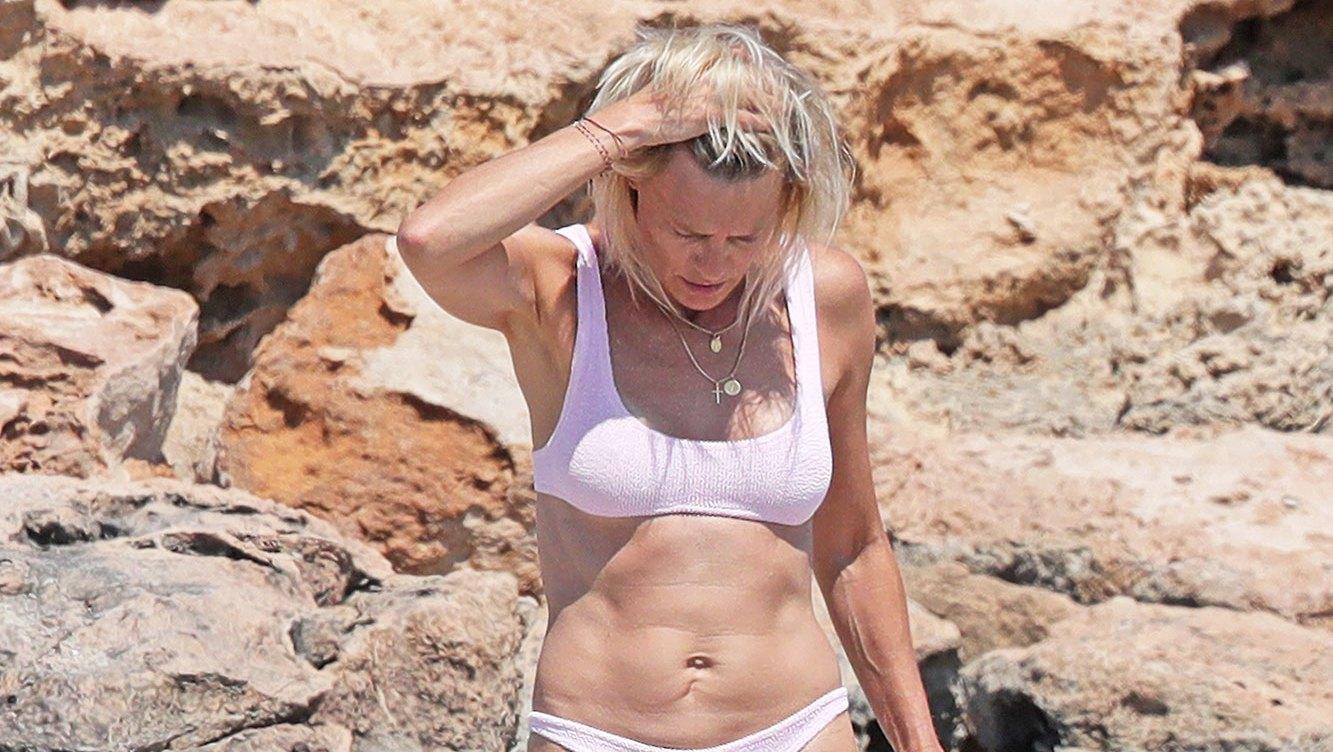 robin wright bikini beach body age 52