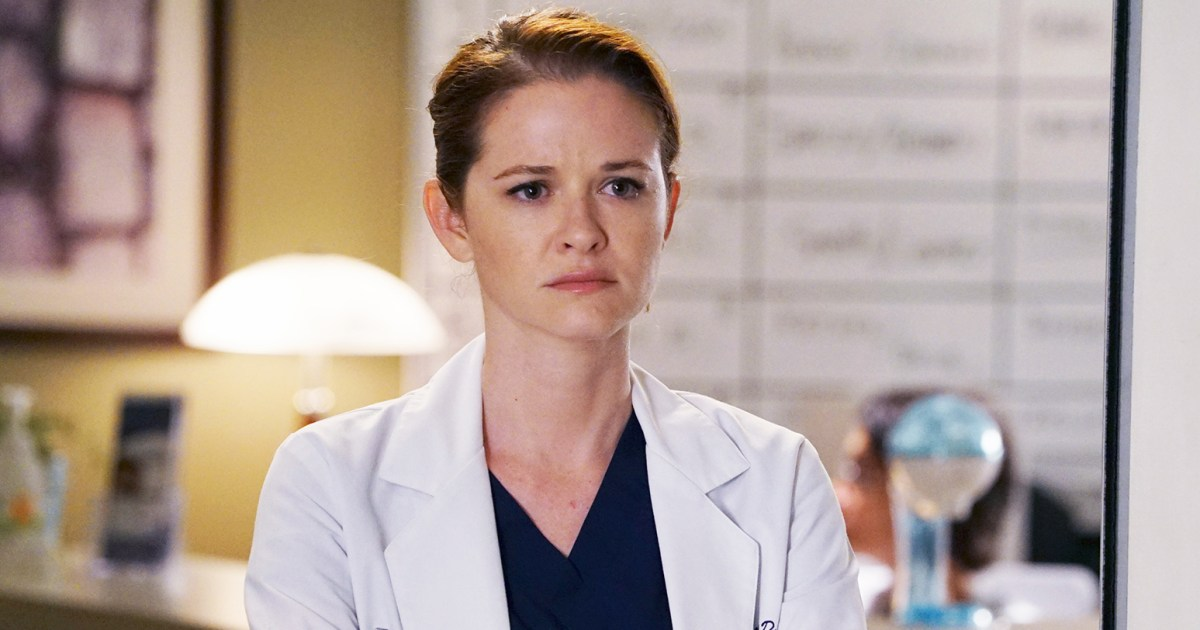 Sarah Drew Details 'Grey's Anatomy' Firing for the First Time
