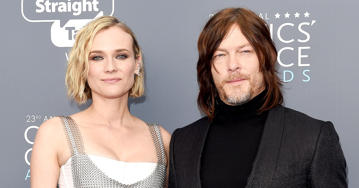 Diane Kruger Gives Birth Welcomes First Child With Norman Reedus