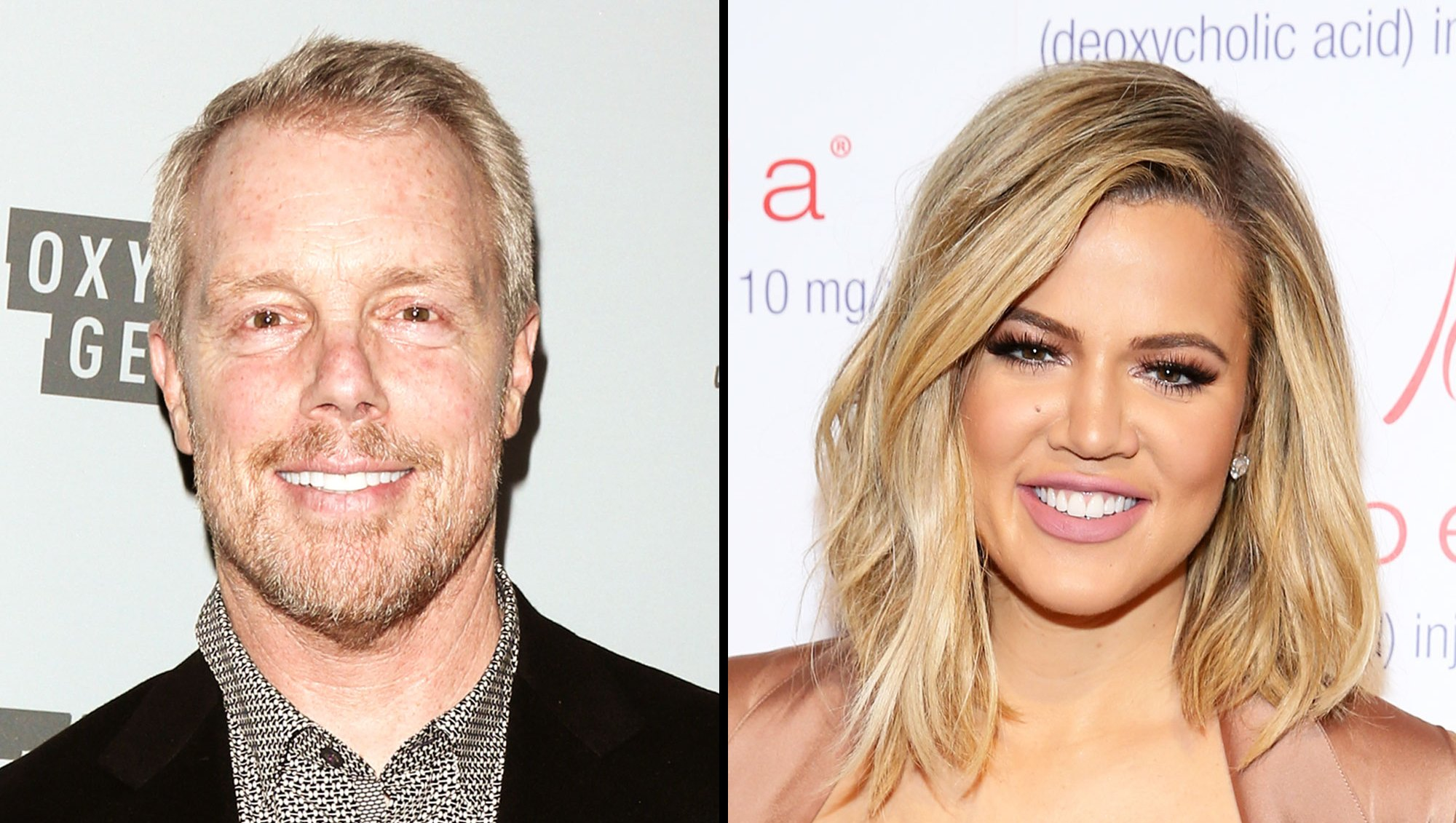 Gunnar Peterson and Khloe Kardashian