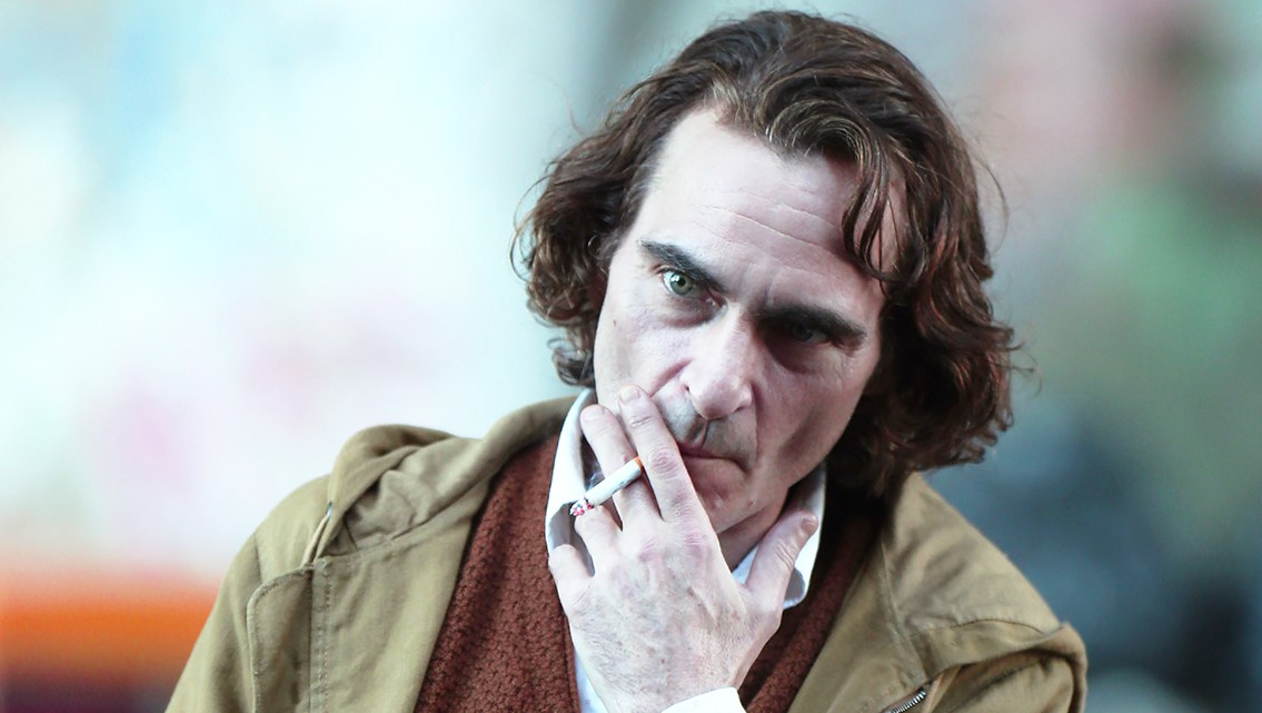 Joaquin Phoenix Transforms Into The Joker in First Footage With Creepy Makeup