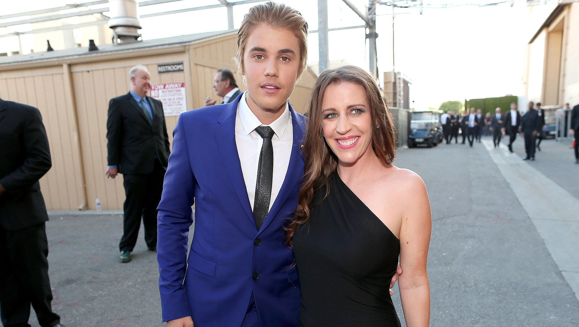 Justin Bieber, Pattie Mallette, Hailey Baldwin