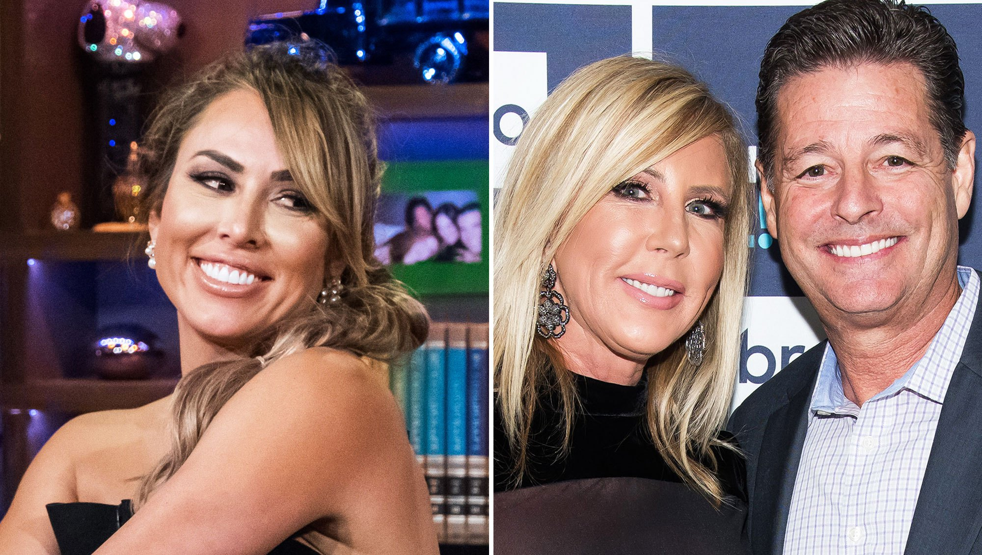 Kelly Dodd ,Vicki Gunvalson, and Steve Lodge