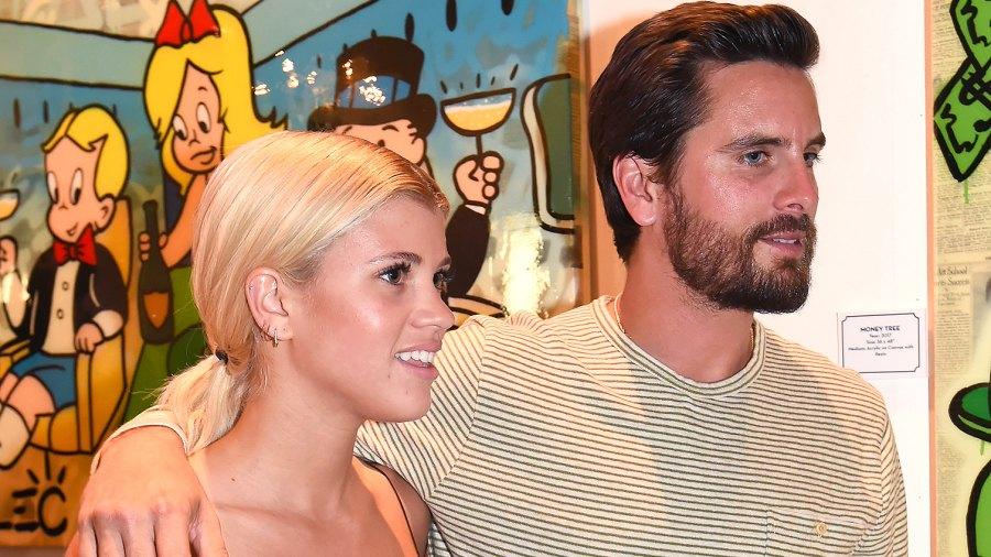 Scott Disick, Sofia Richie, Relationship