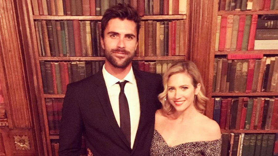 Tyler Stanaland and Brittany Snow