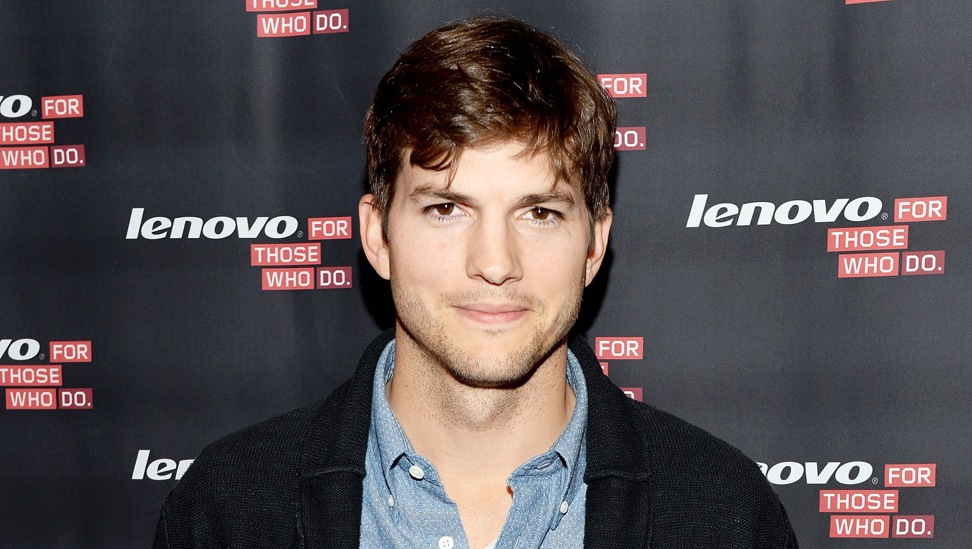 Ashton Kutcher Hit Man With Car Takes Photo