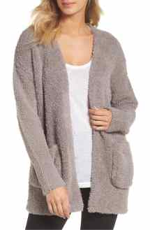 Stay Cozy In Oversized Barefoot Dreams Cardigan