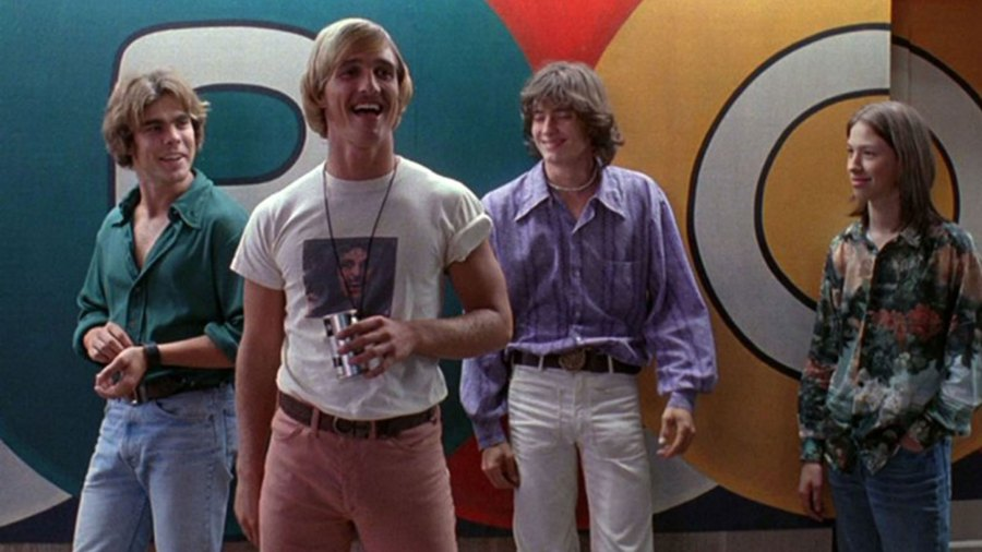 """Matthew McConaughey in """"Dazed and Confused"""""""