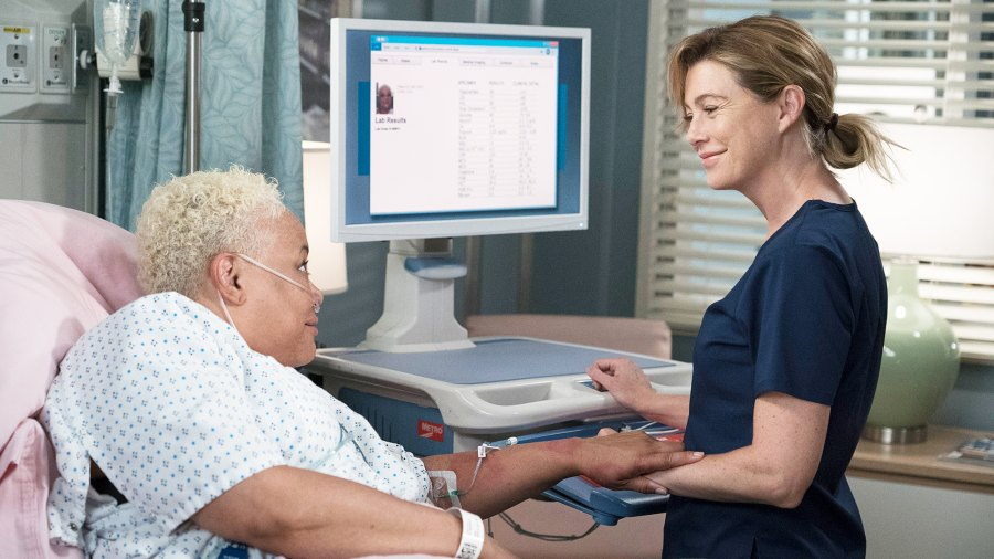 Ellen Pompeo Grey's Anatomy Season 15