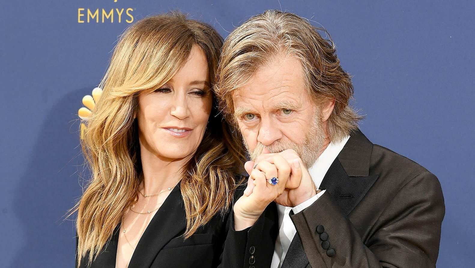 Felicity Huffman William H. Macy Emmys 2018