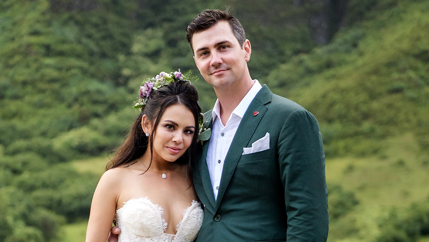 Janel Parrish Chris Long Wedding