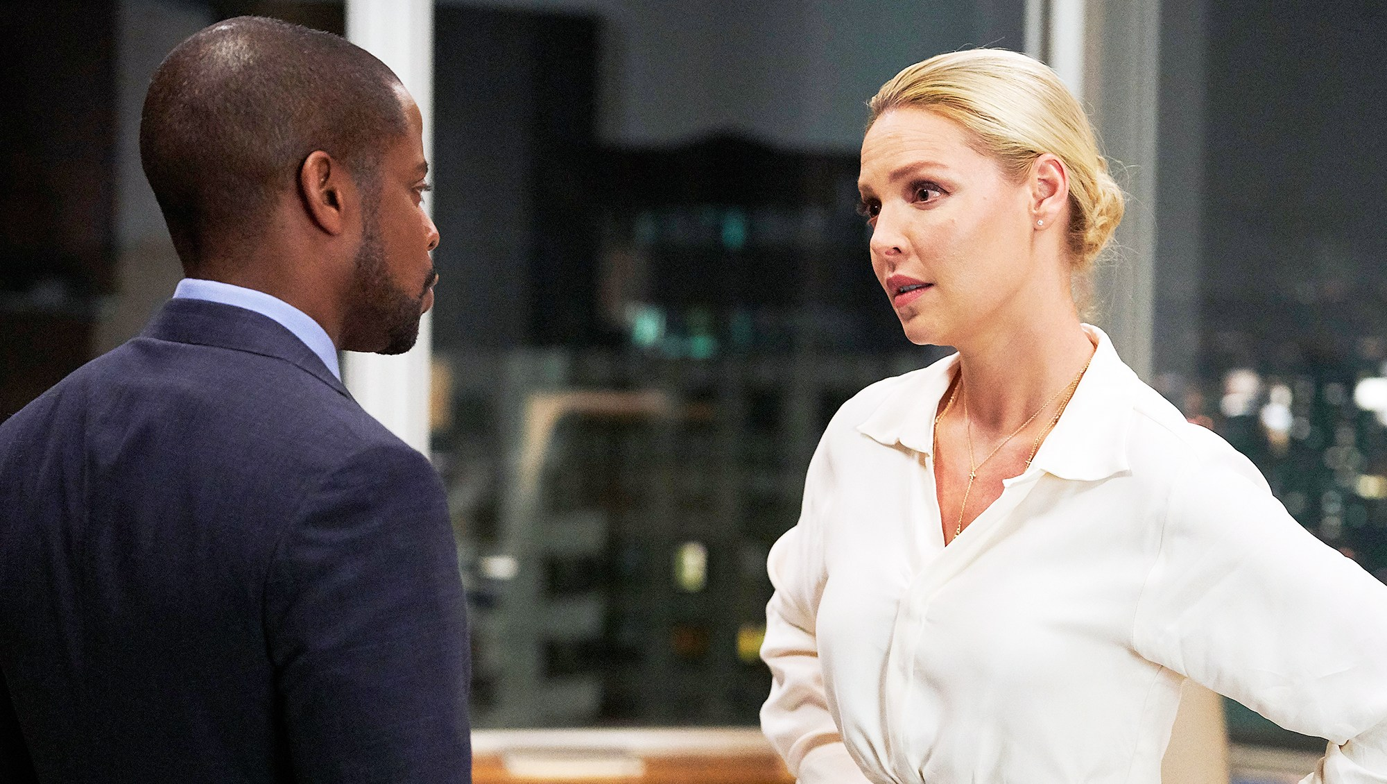 Dule Hill Katherine Heigl Suits Finale