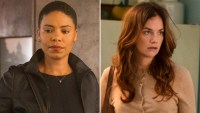Sanaa Lathan and Ruth Wilson