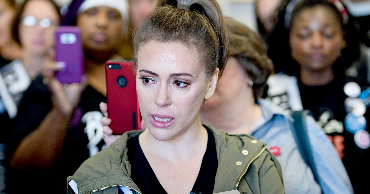 Alyssa Milano Cries Recalling Sexual Assault At Pop Star S