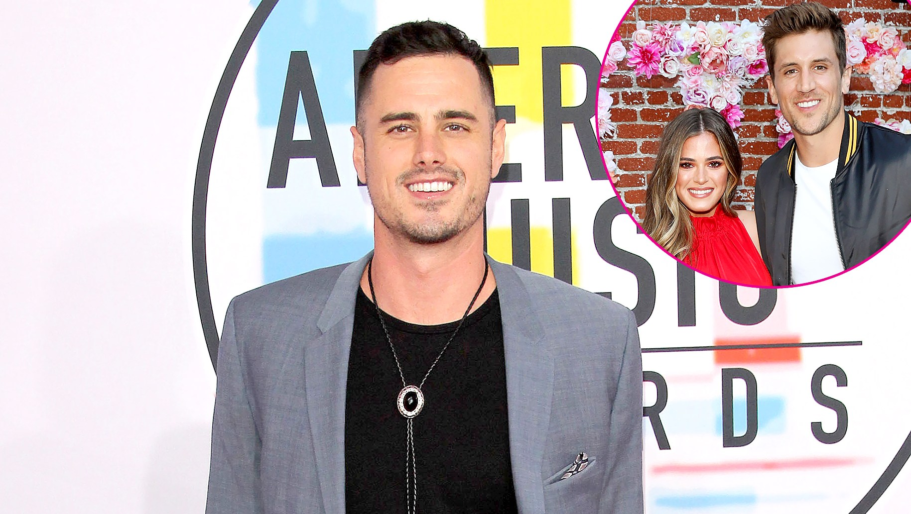 Ben Higgins, JoJo Fletcher and Jordan Rodgers