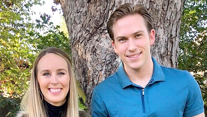 Danielle Bergman and Bobby Dodd expecting