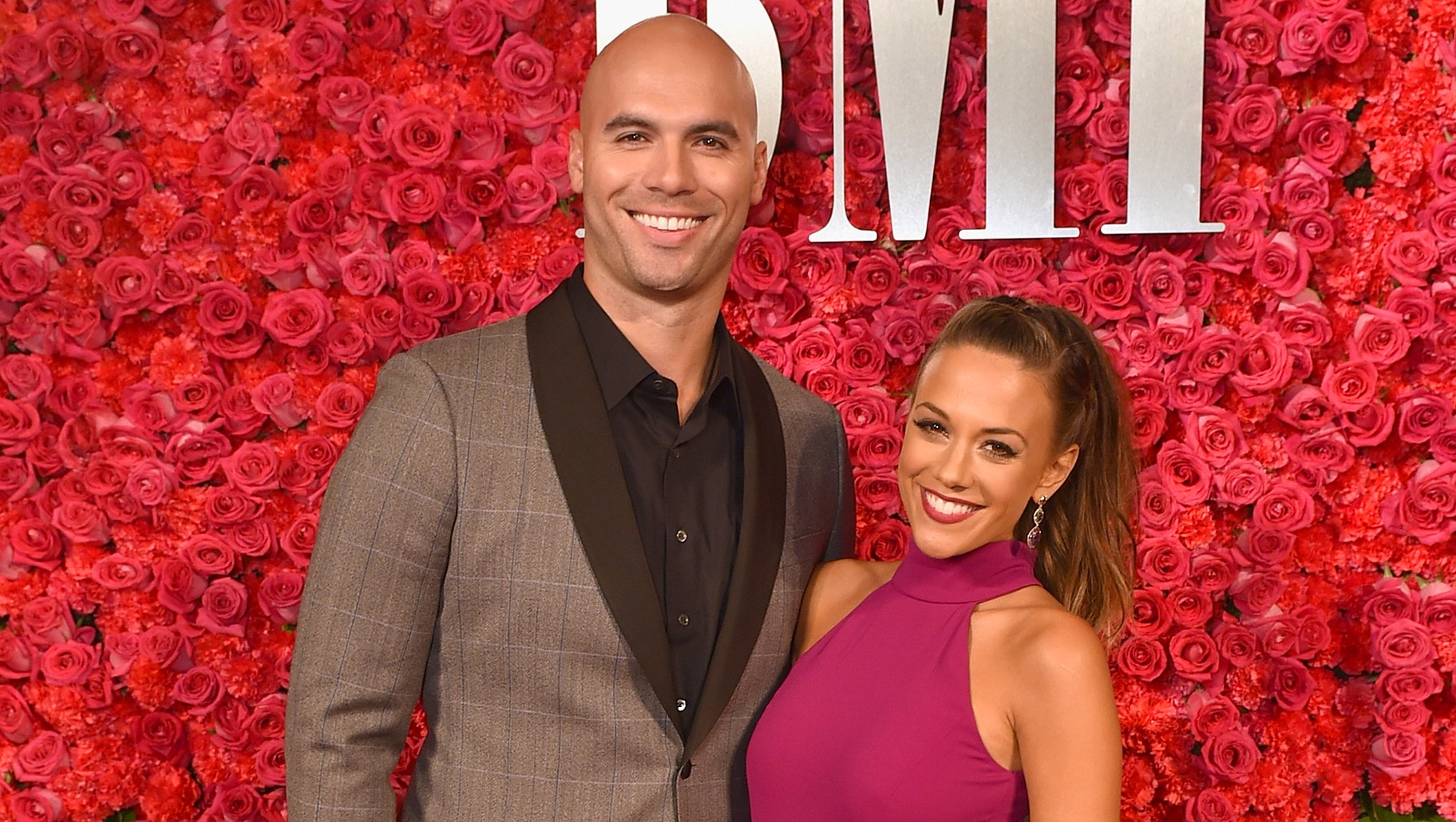 Mike Caussin and singer Jana Kramer
